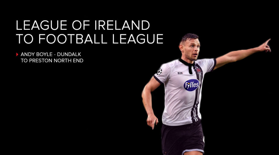 Andy Boyle - League of Ireland to Football League