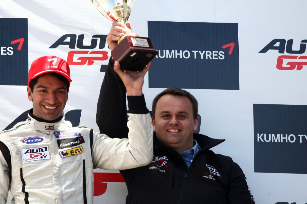 Luciano Bacheta wins race 2 at Morocco Auto GP