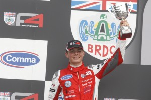 Seb Morris - Brands Hatch GP Podium